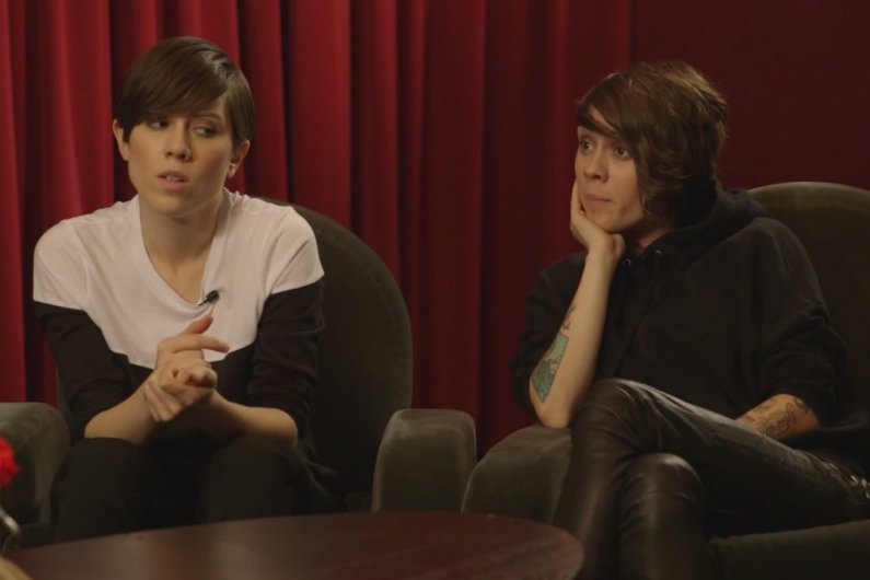 "image for article Tegan and Sara Talk About Oreos and Get ""Sound Advice"" from SNL's Vanessa Bayer [YouTube Video]"