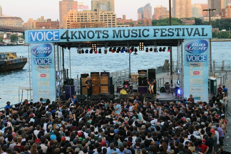 image for article 4 Knots Music Festival at South Street Seaport, NYC 7.12.2014  [Zumic Review, Photos & YouTube Videos]
