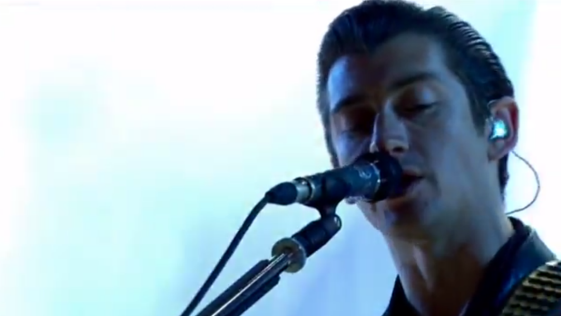 "image for article ""R U Mine?"" - Arctic Monkeys Live at T in the Park 7.13.2014 [YouTube Video]"