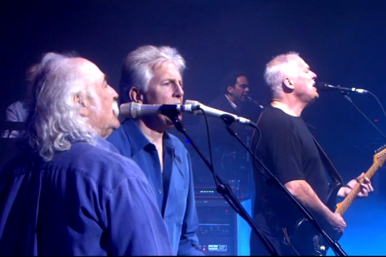 image for article Upcoming Pink Floyd Album to Feature Graham Nash & David Crosby? [UPDATE: NO, IT WON'T]