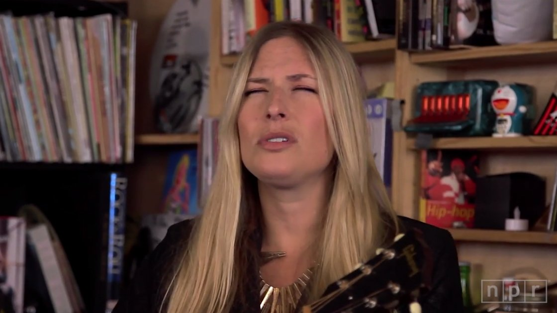 image for article Holly Williams NPR Music Tiny Desk Concert 2014 [YouTube Video]