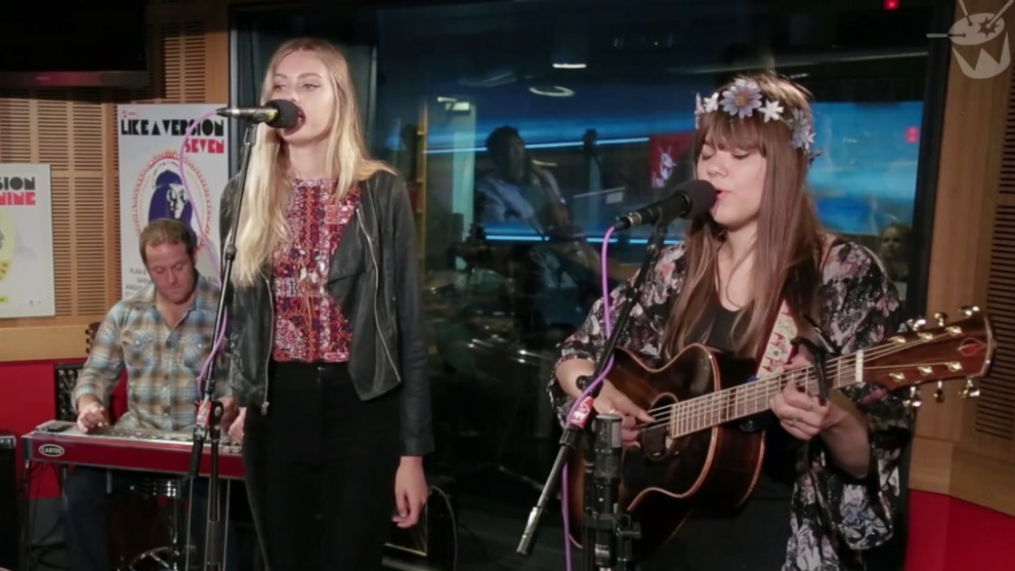 "image for article ""My Silver Lining"" & ""Love Interruption"" (Jack White Cover) - First Aid Kit Live On Triple J 7.31.2014 [YouTube Videos]"