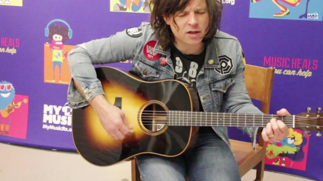 "image for article ""Wharf Rat"" - Ryan Adams (Grateful Dead Cover) Live at MyMusicRx [YouTube Video]"