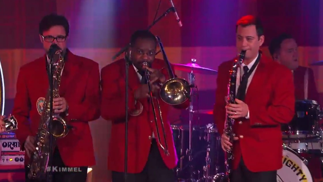 "image for article ""The Impression That I Get"" & ""They Will Need Music"" - The Mighty Mighty Bosstones on Jimmy Kimmel Live 8.6.2014 [YouTube Videos]"