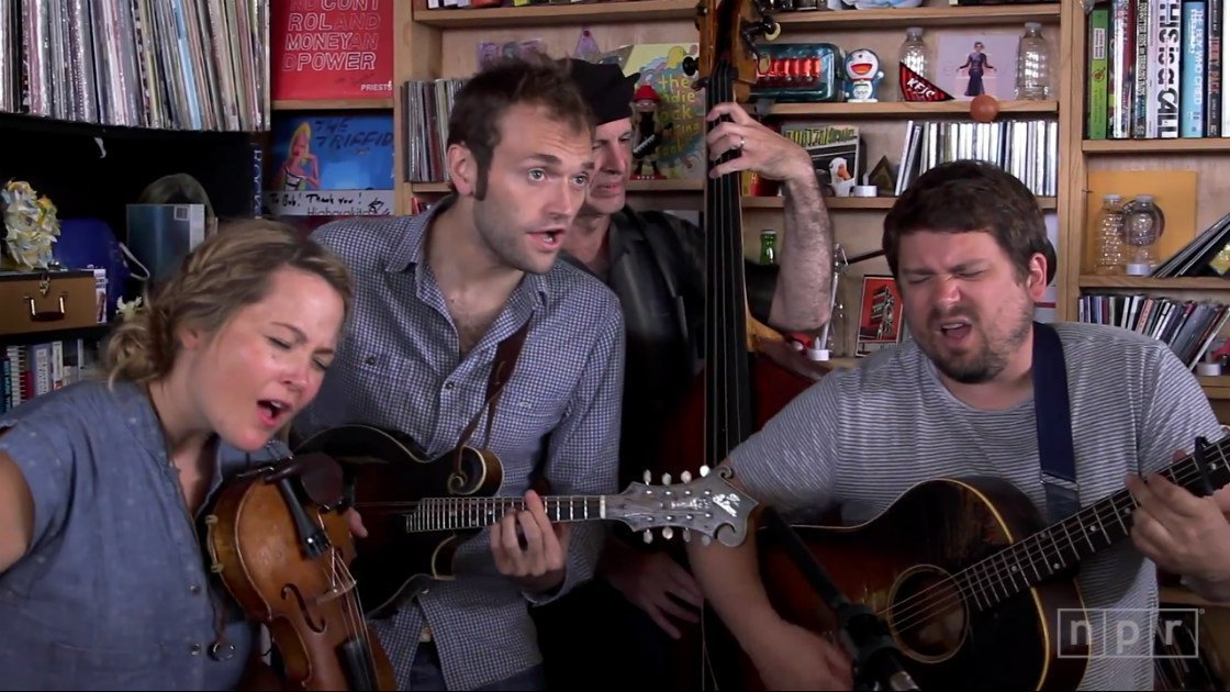 image for article Nickel Creek NPR Music Tiny Desk Concert 2014 [YouTube Video]