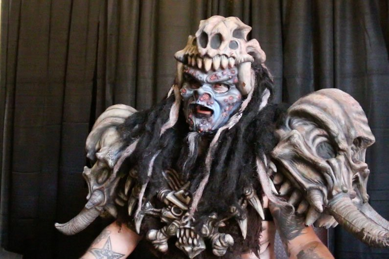 image for article Pustulus Maximus Talks Future of GWAR and Fornicating with Politicians [GWAR B-Q 2014 Interview + Photos]
