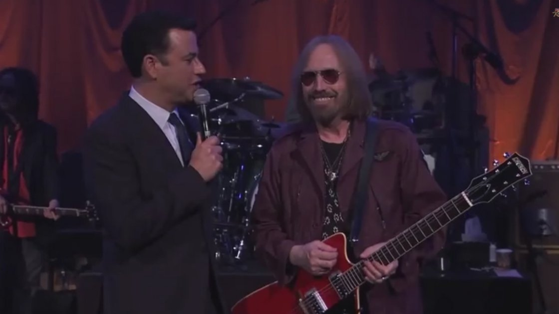 tom-petty-and-the-heartbreakers-jimmy-kimmel-interview-2014