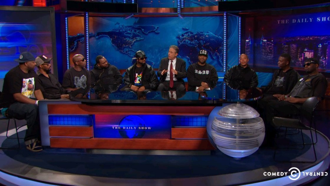 image for article Wu-Tang Clan Performance & Interview on The Daily Show with Jon Stewart 8.6.2014 [Official Videos]