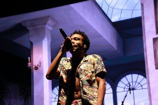 Childish Gambino performing at Boston Calling. Photo by Karl-Lydie Jean-Baptiste
