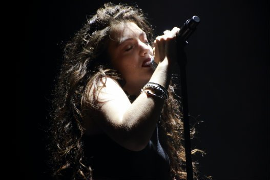 Lorde performing at Boston Calling. Photo by Karl-Lydie Jean-Baptiste