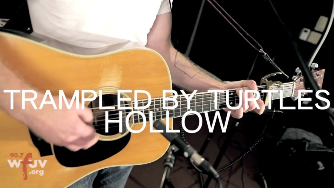 "image for article ""Hollow"" & ""Winners"" - Trampled by Turtles Live at WFUV 7.14.2014 [YouTube Videos + Lyrics]"