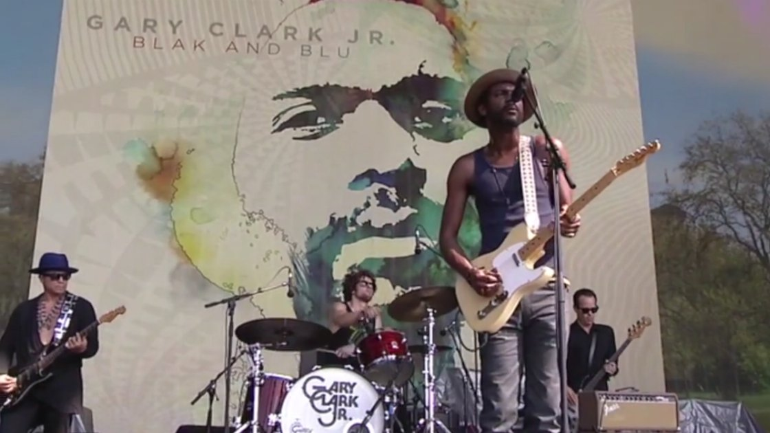 "image for article ""If Trouble Was Money"" - Gary Clark Jr. (Albert Collins Cover) Live at Hyde Park 7.6.2013  [YouTube Video + Lyrics]"