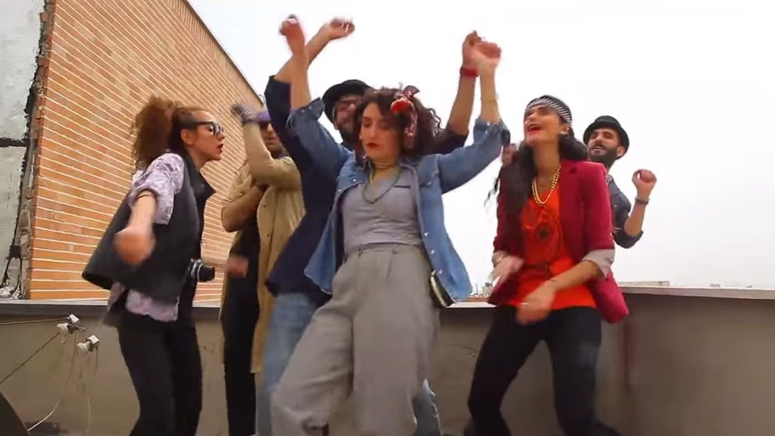 "image for article Seven Iranians Receive Suspended Jail Sentence and 91 Lashes Each for Video Dancing to Pharrell's ""Happy"""
