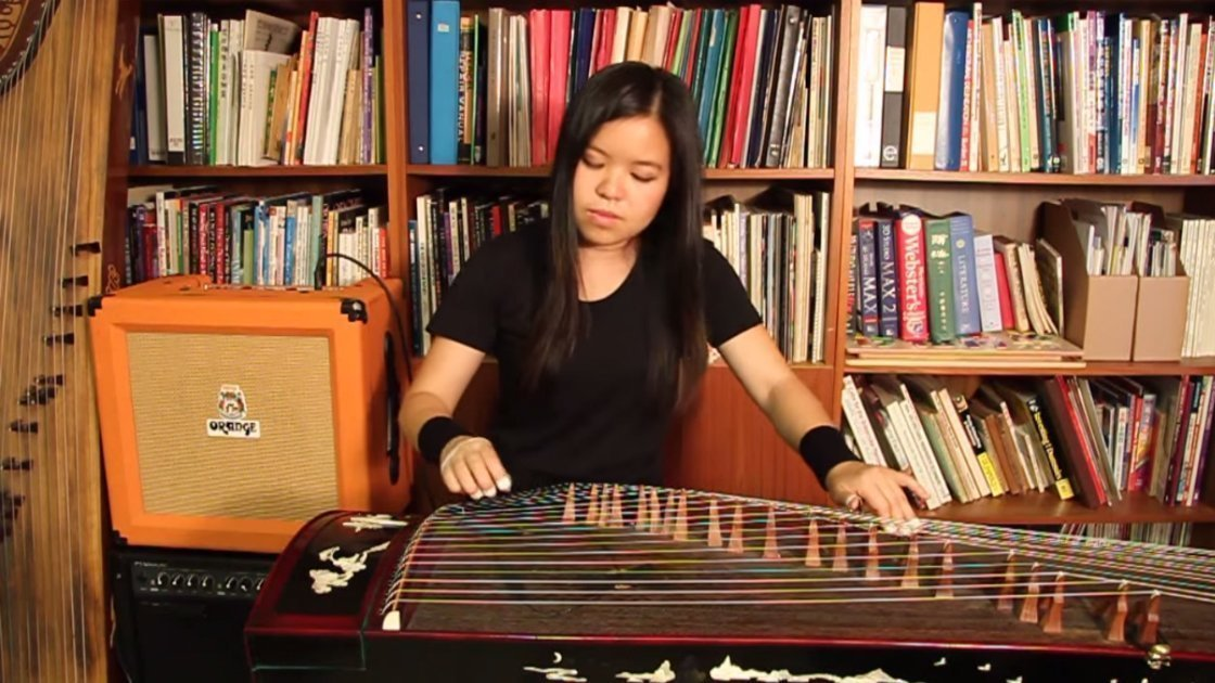 michelle-kwan-metallica-one-guzheng-instrument