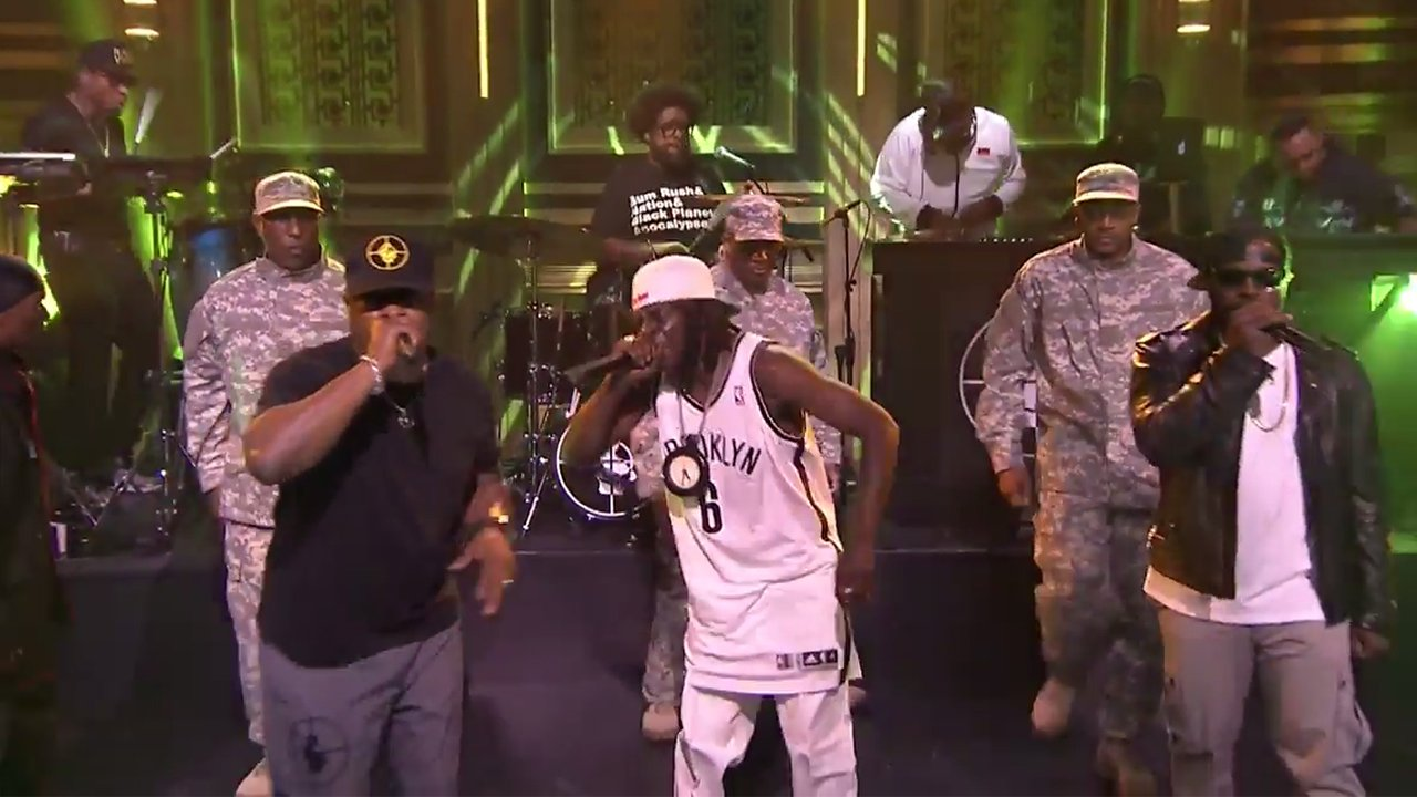 "image for article ""Public Enemy No. 1"" - Public Enemy on The Tonight Show with Jimmy Fallon [Official Video]"