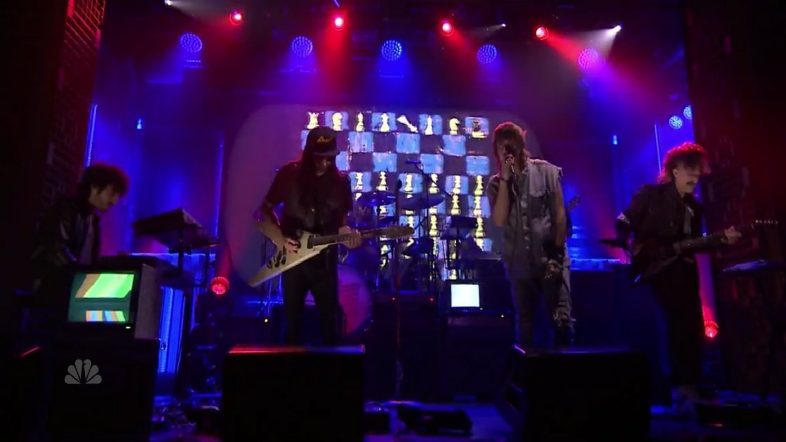 "image for article ""Where No Eagles Fly"" - Julian Casablancas + The Voidz on The Tonight Show Starring Jimmy Fallon 9.23.2014 [Official Video]"