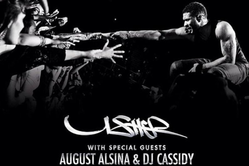 "image for article Usher ""UR Experience"" 2014 Tour with August Alsina and DJ Cassidy Tickets Now On Sale"