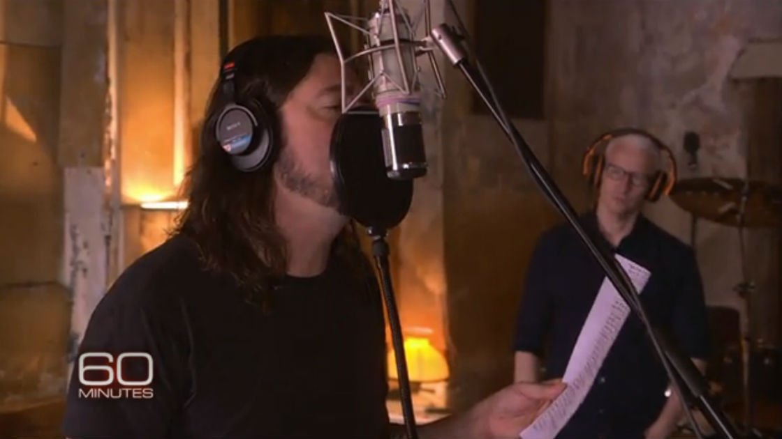 image for article Foo Fighters on 60 Minutes with Anderson Cooper 10.26.2014 [Official Videos]