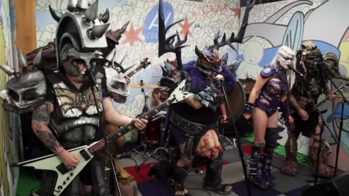 "image for article ""West End Girls"" & ""People Who Died"" - GWAR (Pet Shop Boys  & Jim Carroll Covers) [AV Club Video]"