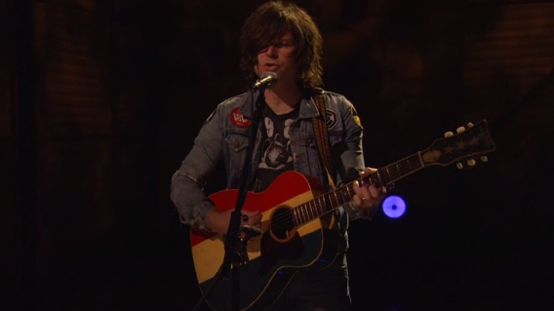"image for article ""My Wrecking Ball"" - Ryan Adams On Conan O'Brien 10.2.2014 [YouTube Official Video]"