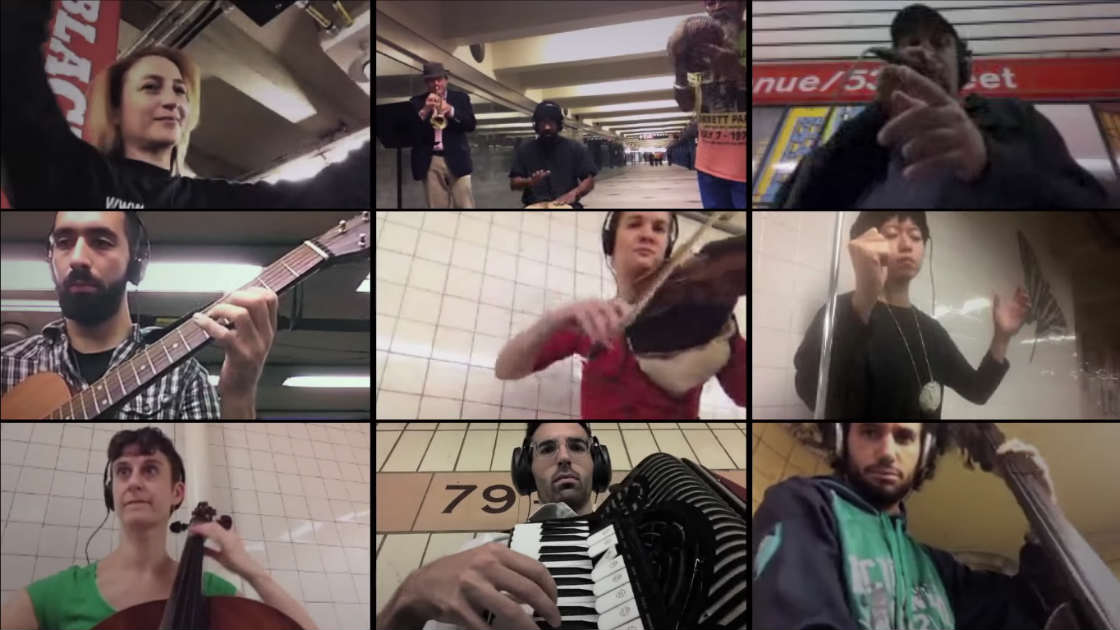 "image for article ""Signal Strength"" - Ljova Conducts 11 NYC Subway Musicians Over WiFi Simultaneously [YouTube Video]"