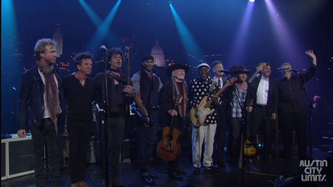 "image for article ""Texas Flood"" - Kenny Wayne Shepherd, Buddy Guy, Willie Nelson & More (Stevie Ray Vaughan Cover) [Austin City Limits 40th Anniversary YouTube Video]"