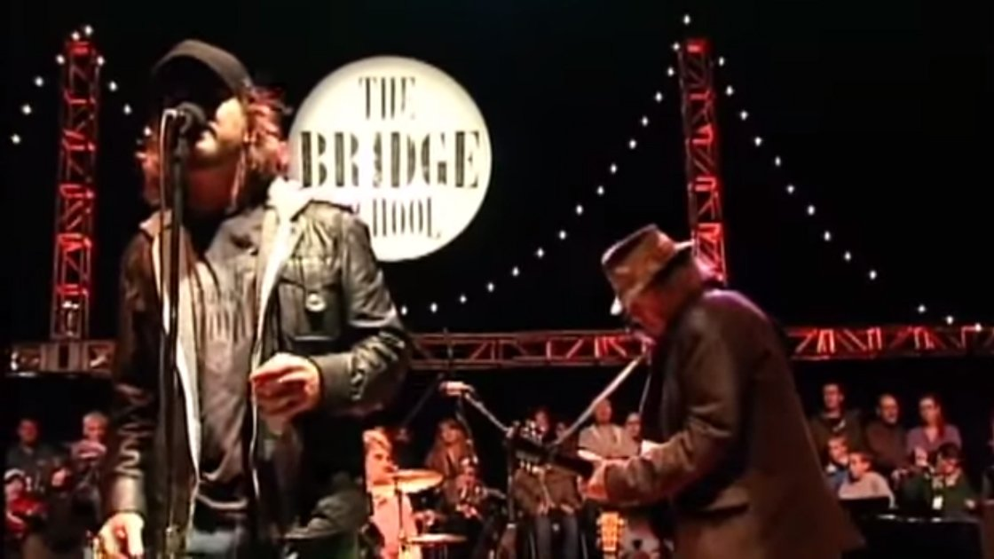 "image for article ""Walk With Me"" - Pearl Jam ft Neil Young at The Bridge School, San Francisco 10.23.2010 [YouTube Video]"