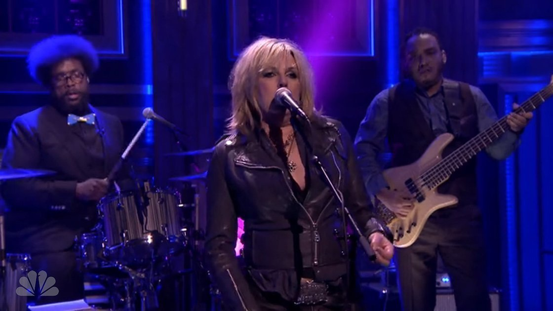 "image for article ""Protection"" - Lucinda Williams & The Roots on The Tonight Show Starring Jimmy Fallon [Hulu Official Video]"