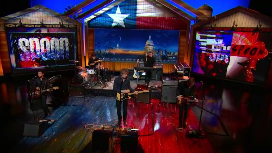 image for article Spoon Performances on The Daily Show with Jon Stewart 10.30.2014 [Official Videos]