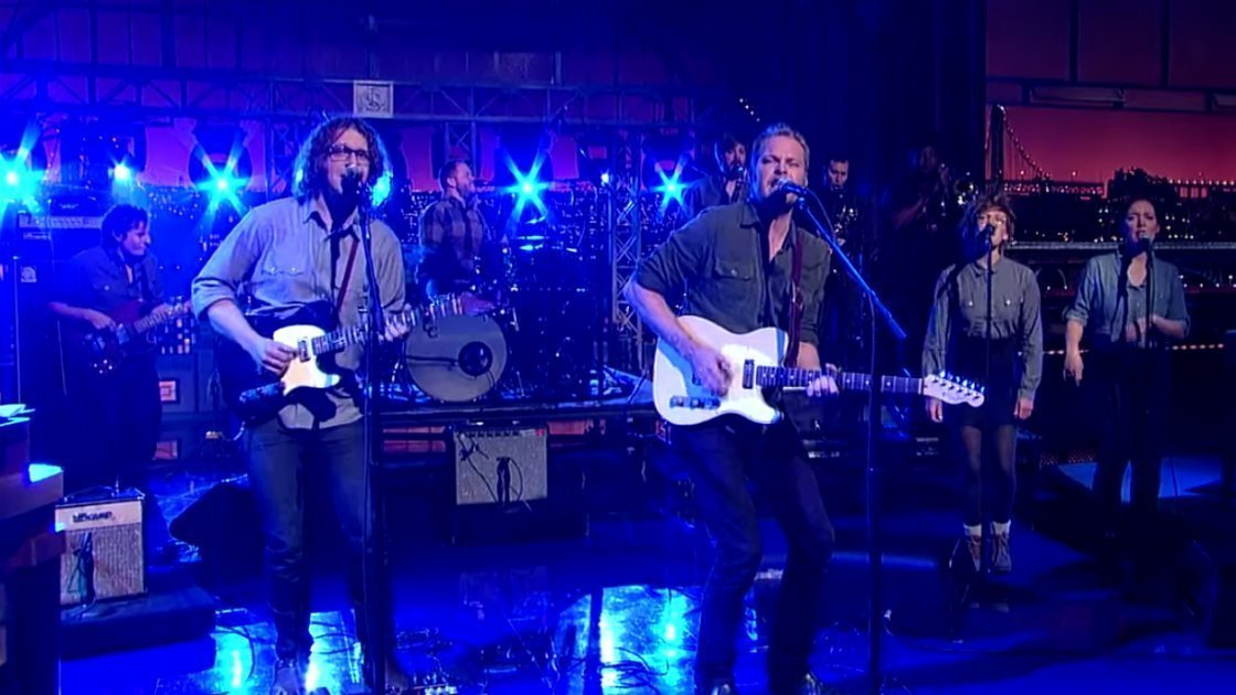 "image for article ""Southern Grammar"" - Hiss Golden Messenger on Letterman 11.18.2014 [YouTube Video]"