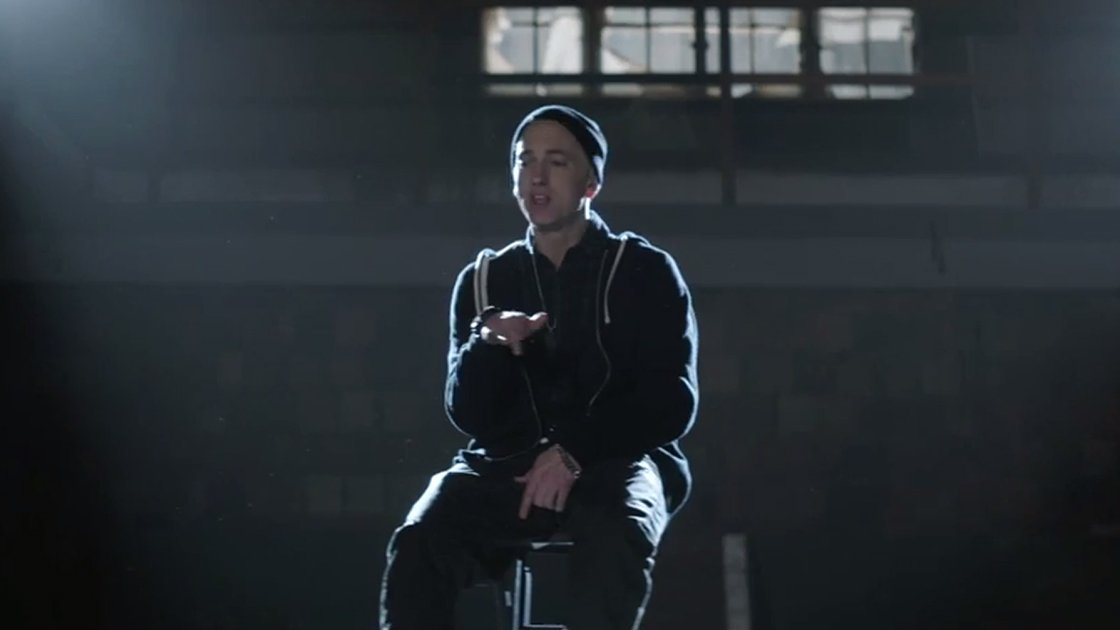 "image for article ""Guts Over Fear"" - Eminem ft Sia [YouTube Official Music Video]"