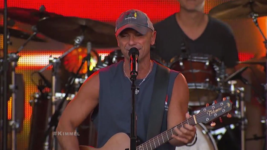 "image for article ""American Kids"" & ""Til It's Gone"" - Kenny Chesney on Jimmy Kimmel Live 11.4.2014 [YouTube Videos]"