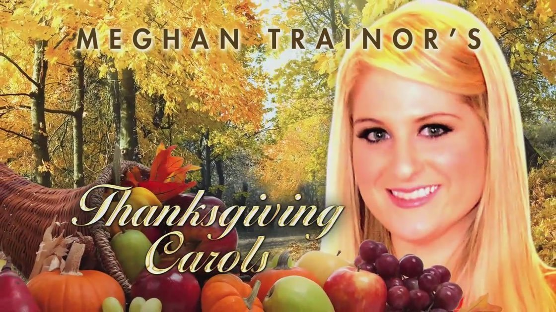 image for article Meghan Trainor's Thanksgiving Carols on Jimmy Kimmel 11.25.2014 [YouTube Official Video]
