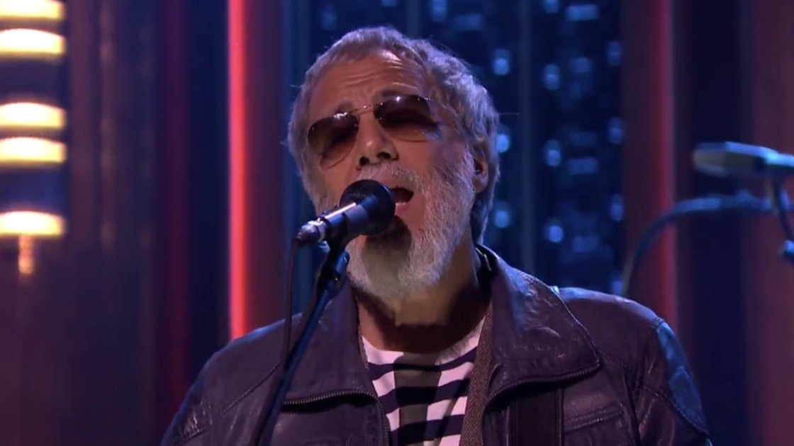 "image for article ""You Are My Sunshine"" - Cat Stevens on The Tonight Show Starring Jimmy Fallon 12.12.2014 [Official Video]"