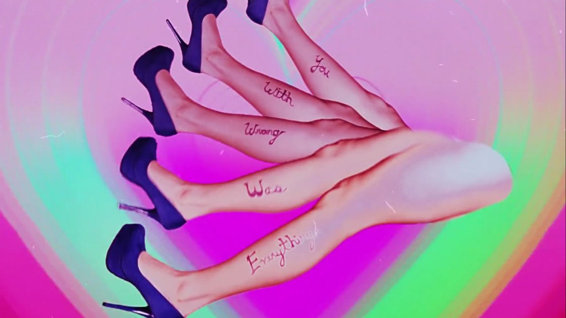 charlie-xcx-breaking-up-music-video-legs-rainbow