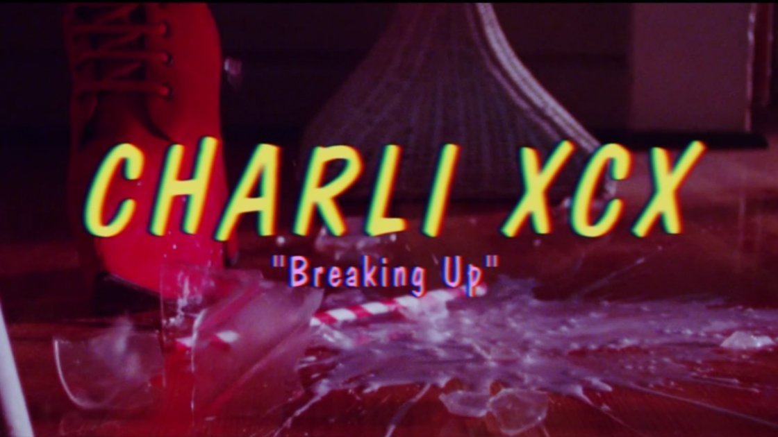charlie-xcx-breaking-up-music-video-title