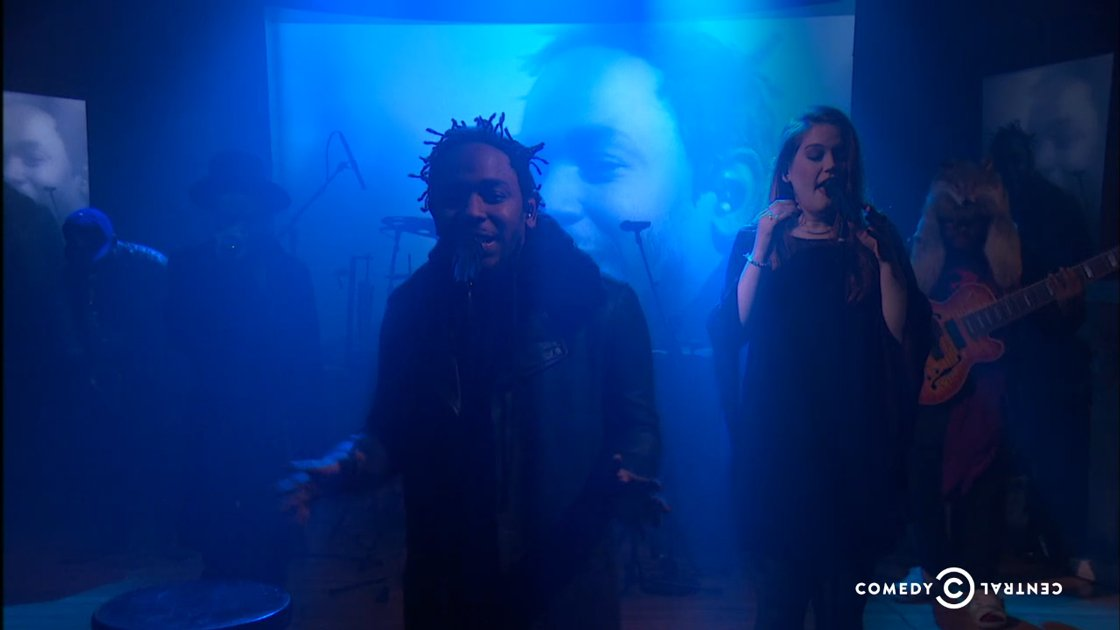 kendrick-lamar-colbert-report-performance-video-band-2014