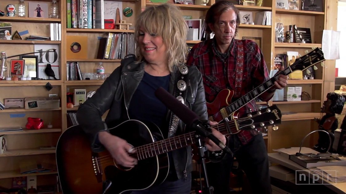 image for article Lucinda Williams NPR Tiny Desk Concert 2014 [NPR YouTube Video]