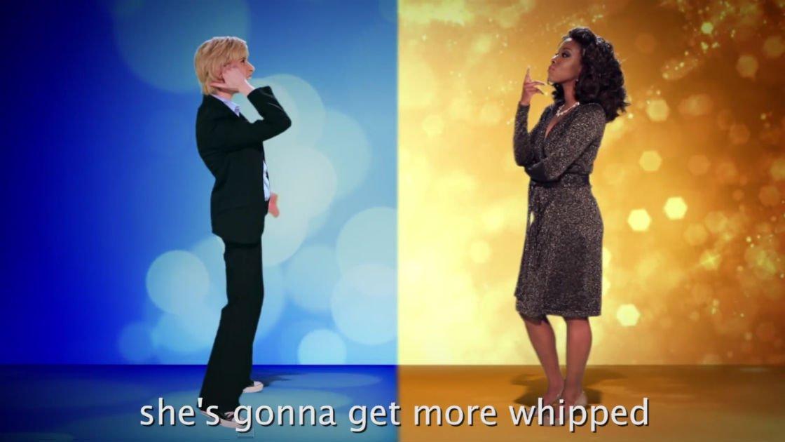 Lyric epic rap battles lyrics : Oprah vs Ellen