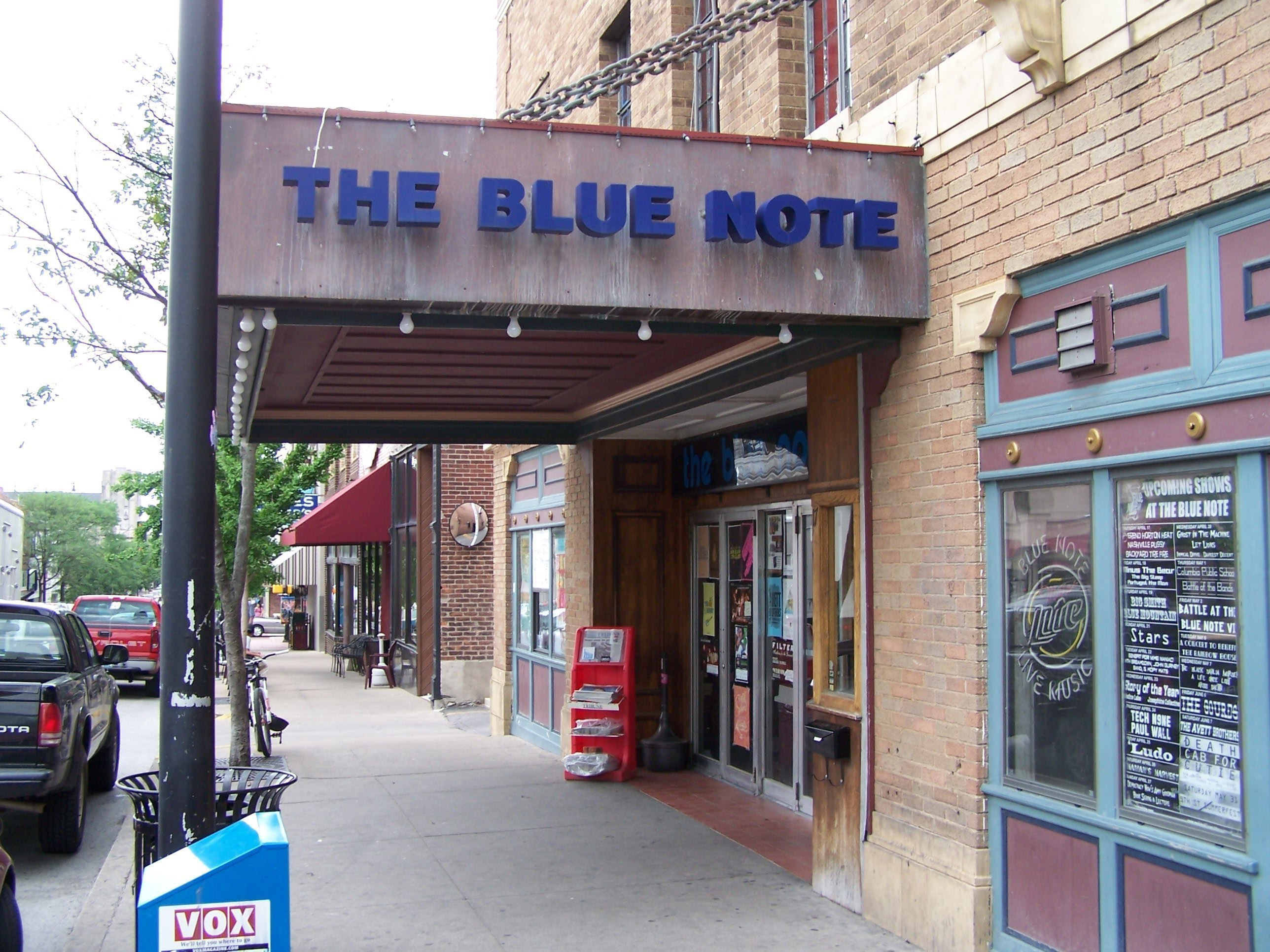 image for venue The Blue Note - Columbia