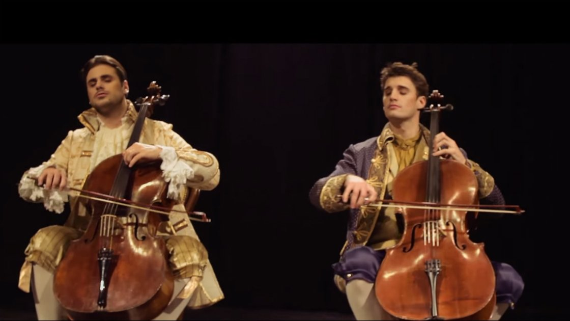 "image for article ""Thunderstruck"" - 2CELLOS (AC/DC Cover) [Youtube Official Video]"