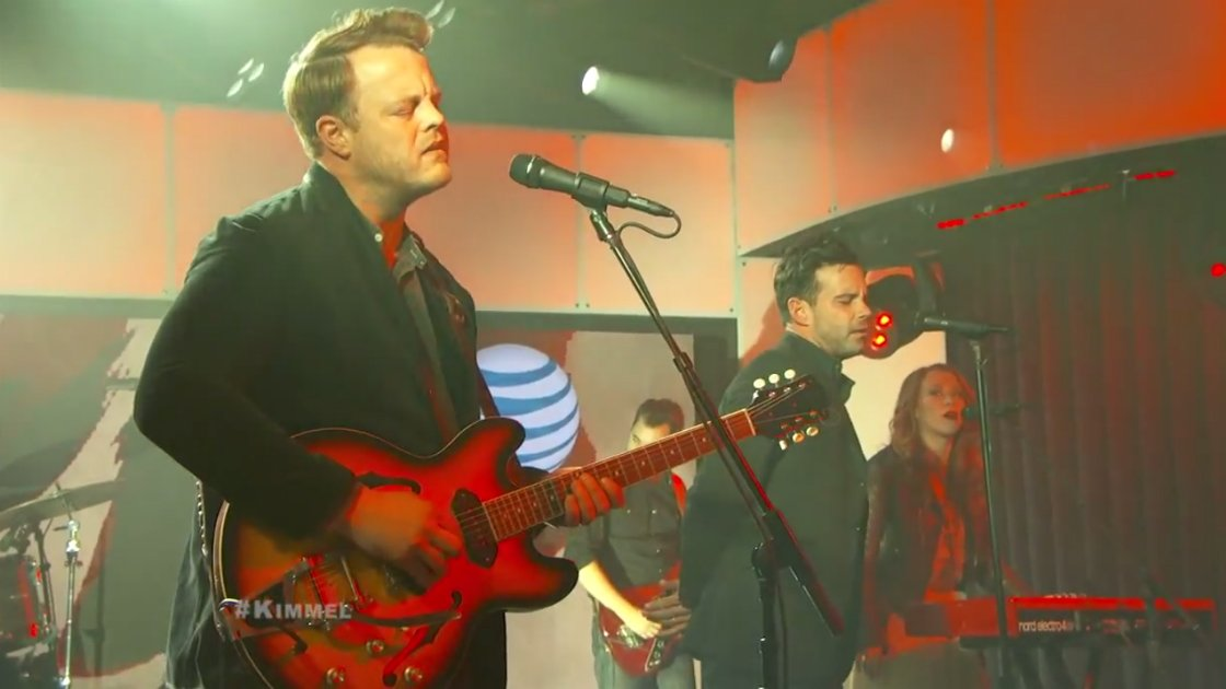 "image for article ""Cold As It Is"" & ""Heaven Don't Call Me Home"" - The Lone Bellow on Jimmy Kimmel Live 1.07.2015 [YouTube Official Videos & Lyrics]"