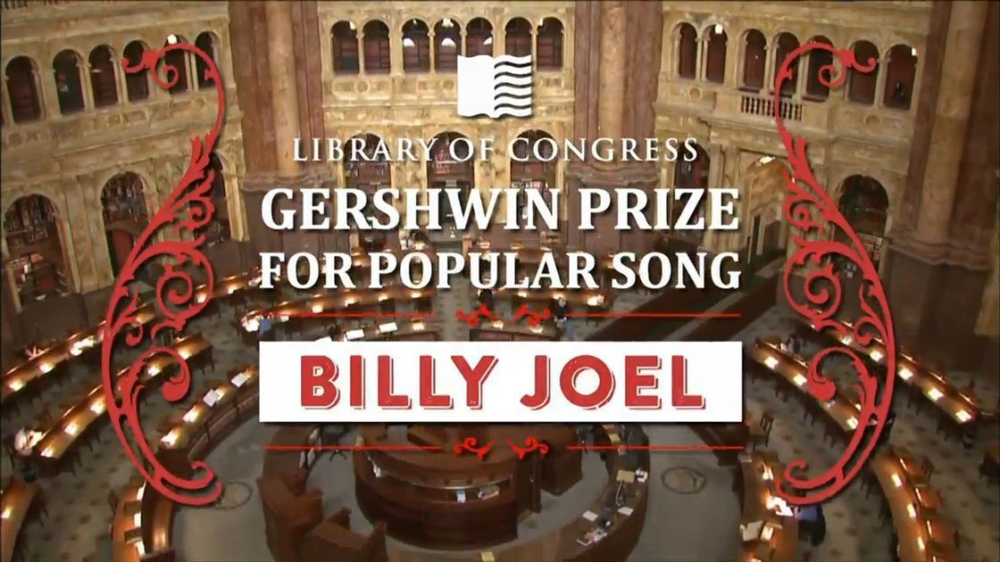 image for article Billy Joel: The Library of Congress Gershwin Prize Performance 11.19.2014 [Official PBS Full Video & YouTube Clips]