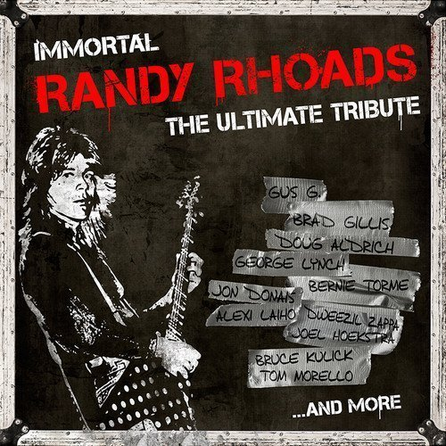 "image for article ""Immortal Randy Rhoads: The Ultimate Tribute"" [YouTube Full Audio Stream + Zumic Review]"