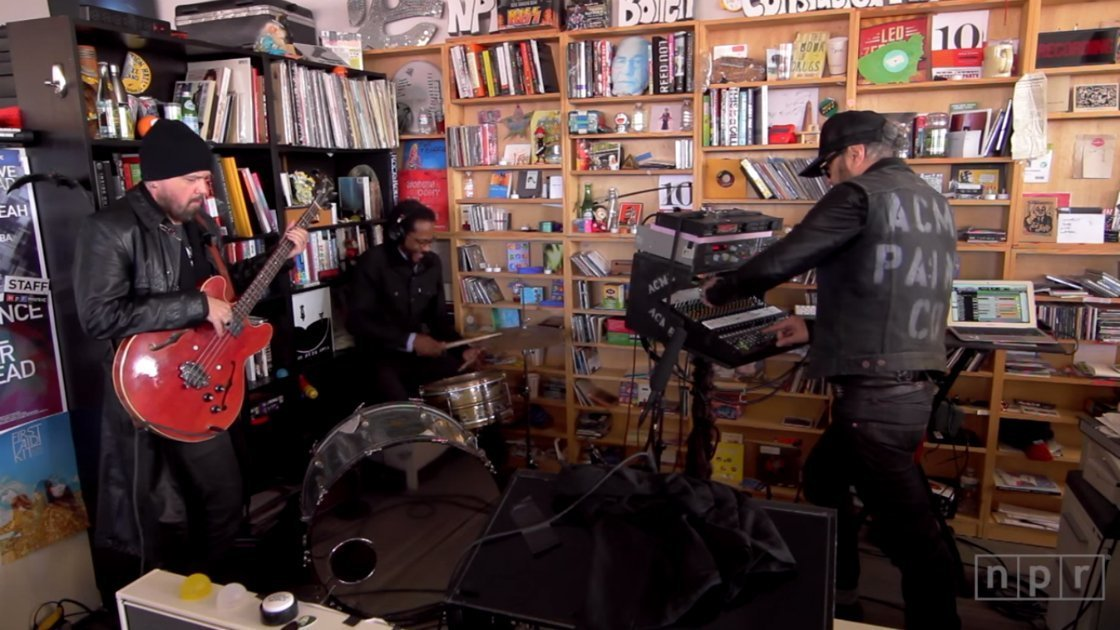 image for article Daniel Lanois NPR Tiny Desk Concert [YouTube Official Video]