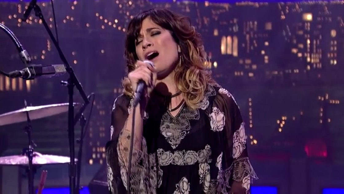 "image for article ""War Torn"" - Nicole Atkins on The Late Show with David Letterman 01.09.2015 [YouTube Official Video]"