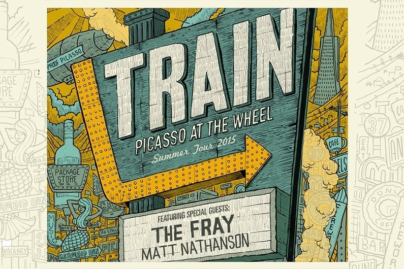image for article Train 2015 Tour Dates & Ticket Presale Code Announced; Openers Will Be The Fray & Matt Nathanson