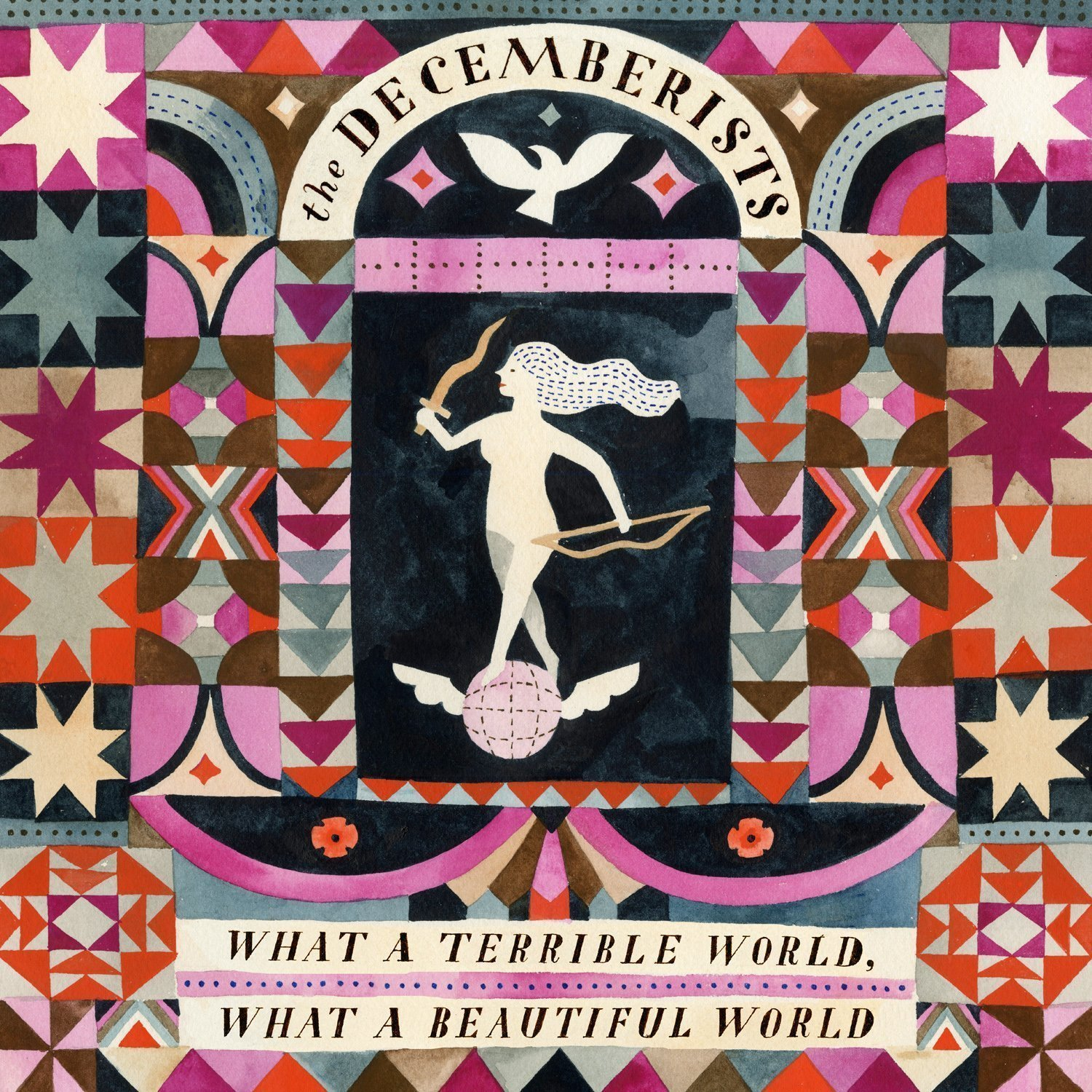"image for article ""What a Terrible World, What a Beautiful World"" - The Decemberists [Official Full Album Stream + Zumic Review]"
