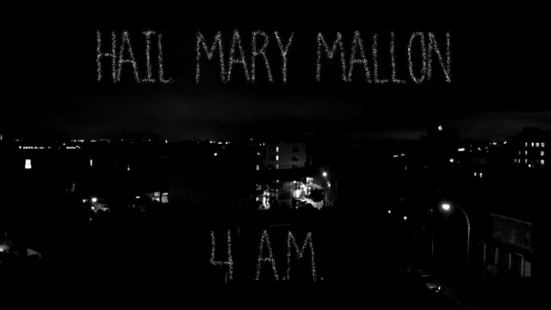 "image for article ""4AM"" - Hail Mary Mallon [YouTube Official Music Video + Lyrics]"