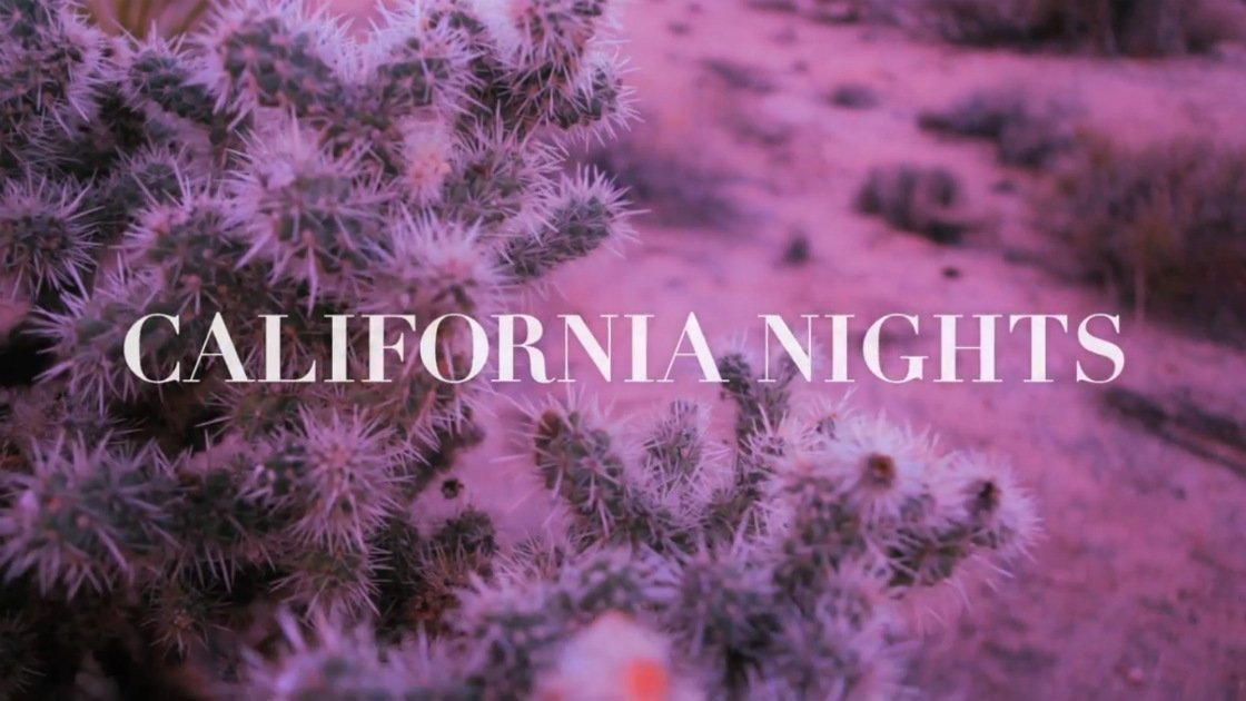 best-coast-california-nights-music-video-title-screen